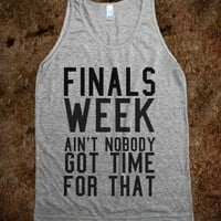 finals week - Flirty Falcon - Skreened T-shirts, Organic Shirts, Hoodies, Kids Tees, Baby One-Pieces and Tote Bags