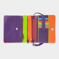 Multicolor Leather Organizer