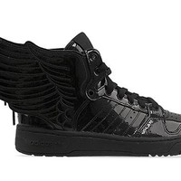 Adidas Originals X Jeremy Scott Wings 2.0 Mens in Black at Solestruck.com