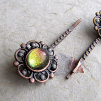 Mystic Steampunk Lace Hair Pins by AshleySpatula on Etsy