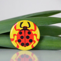 Ladybug pin from USSR