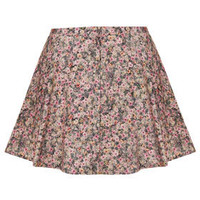 Ditsy Floral Button Through Mini Skirt - New In This Week  - New In
