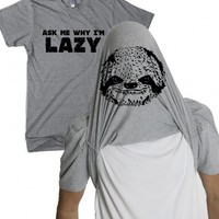 Sloth t shirt | turn into a sloth filp tshirt