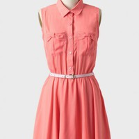 clarissa bow belted dress at ShopRuche.com