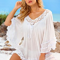 Ribbon and lace tunic from VENUS