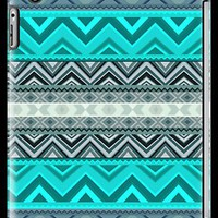 Mix #180 - Blue Aztec Pattern by Orna Artzi