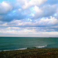 Lake Erie  Art Print by larkinjane