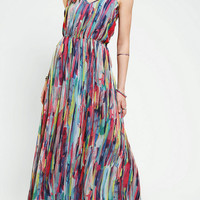 Jack By BB Dakota Bayberry Chiffon Maxi Dress