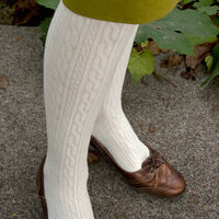 Socks By Sock Dreams  » Socks » Twisted Pattern Tights