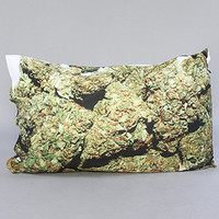 I BUD YOU by The Personal Stash The Maple Leaf Kush Pillowcase