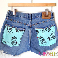 Levis Denim Shorts (SMALL to MEDIUM) // 2008