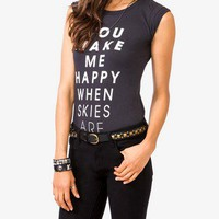 Happy Skies Tee
