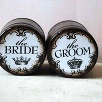 The Bride And The Groom - Wedding Ring Boxes on Luulla