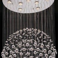 Lite Source LS19582 - Cristallo Modern / Contemporary Chandelier LS-19582