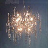 Meyda Tiffany 37661 - Crystal Drop Sputnik Pendant Light MD-37661