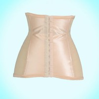 Extra Firm Shaping Girdle in Beige from Rago | Pinup Girl Clothing