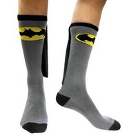 Batman Men&#x27;s Caped Socks