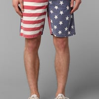 Tropicalia American Flag Elastic Waist Short