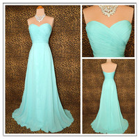 Aqua Grace Timeless Glamour Prom Dress from prom 2013