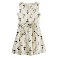 Girls' candy anchor dress - party - Girl's dresses - J.Crew