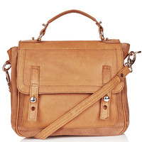 Suede And Leather Satchel - Leather Bags - Bags & Wallets - Bags & Accessories - Topshop USA