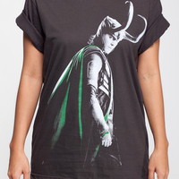 LOKI T Shirt The Avengers Tom Hiddleston Women Short Sleeve T Shirts Black Tee Shirts Men Shirts Women Unisex T-Shirt Size M L XL