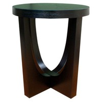Modern Accent Table - Black