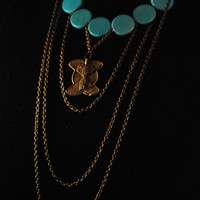 Drop Necklace by sankofaschild on Etsy