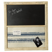 One Kings Lane - Cottage Charm - Chalk & Memo Board