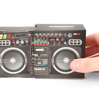 Kikkerland Design Inc   » Products  » Boombox Speaker