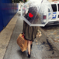 topfashion  I love NY Rain Umbrella