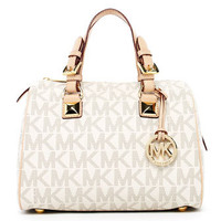 MICHAEL Michael Kors  Grayson Signature PVC Medium Satchel