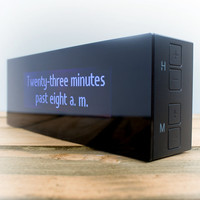 Verbarius Clock at Firebox.com