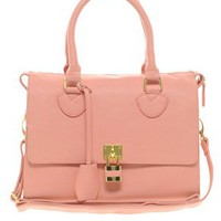 ASOS Front Padlock Bowler Bag at asos.com