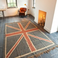 Union Jack Rug at Rose & Grey, Rugs