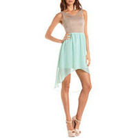 Cuotut Hi-Low 2-Fer Dress: Charlotte Russe