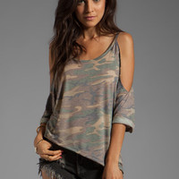 Blue Life EXCLUSIVE Trendsetter Top in Camo from REVOLVEclothing.com