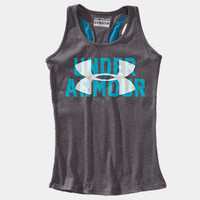 Girls&#x27; UA Script Logo Graphic Tank | 1240706 | Under Armour US