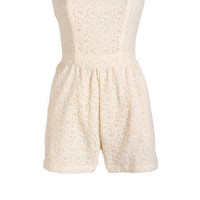 Lace Romper