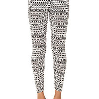 Brandy Abstract Print Legging