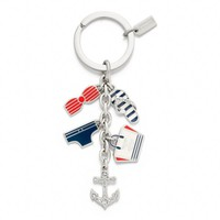 Coach :: Saint James Multi Mix Key Ring