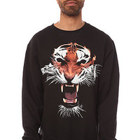 Primitive Sweatshirt El Tigre Crewneck in Black