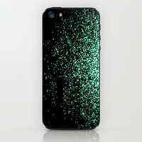 infinity in mint green iPhone & iPod Skin by Marianna Tankelevich
