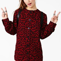 Givenchy Leopard Shirtdress
