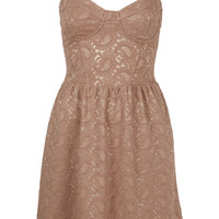 Paisley Lace Corset Tunic - Sale - Sale &amp; Offers - Topshop USA