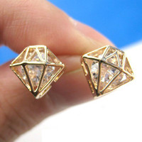 lovely fashion diamond shaped Earrings/Ear Ring/Stud