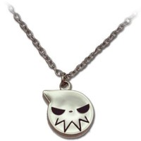 Amazon.com: Soul Eater: Soul Eater Logo Icon Silver Necklace: Toys & Games