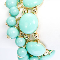 Turquoise Bubble Bracelet