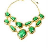 Amrita Singh Resin Stone Embellished Wainscott Necklace - Amrita Singh jewelry under $59 - Modnique.com