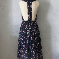 Cherry Blossom & Birds Dress